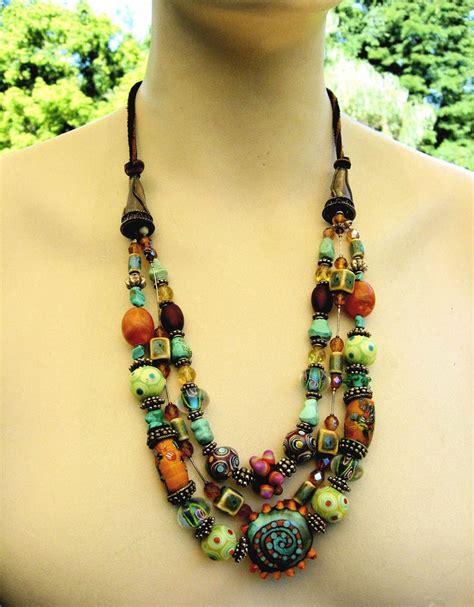 bohemian jewelry best 10 bohemian necklace ideas on boho
