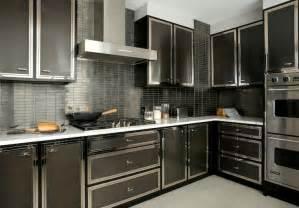 modern black kitchen cabinets black kitchen backsplash design ideas