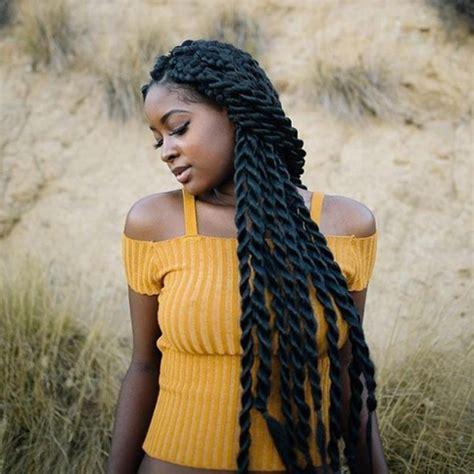 senegalese waist flat twists hairstyles american hairstyles trend
