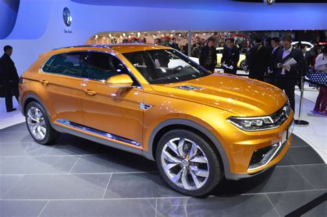 Volkswagen Crossblue by Volkswagen Crossblue Coupe Concept Is Green Tinted High