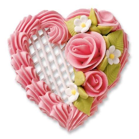 joli coeur en sucre pour d 233 coration de gateau centerblog