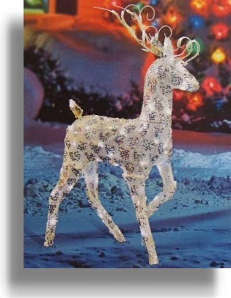 lighted reindeer decorations outdoor lighted reindeer decoration photo album