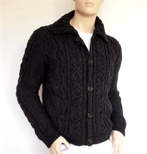 custom knit items similar to sweater knit cable cardigan