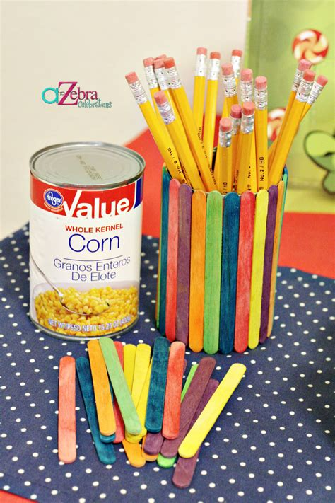 easy craft ideas for at school back to school crafts a to zebra celebrations