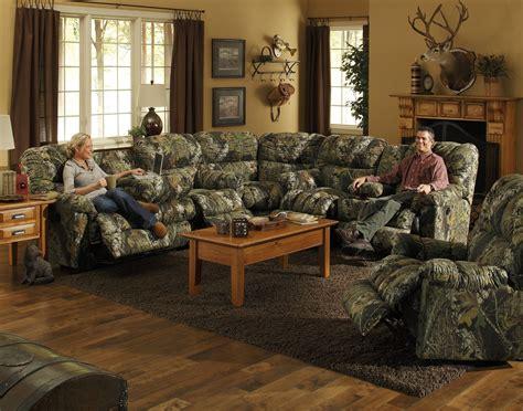 camo living room set catnapper cuddler sectional 3375 set homelement