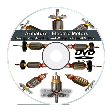 Electric Motor Armature by Armature Electric Motors Design Construction And Winding