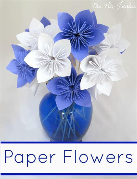 paper flowers crafts 40 pretty paper flower crafts tutorials ideas