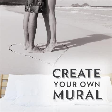 create your own custom wall mural