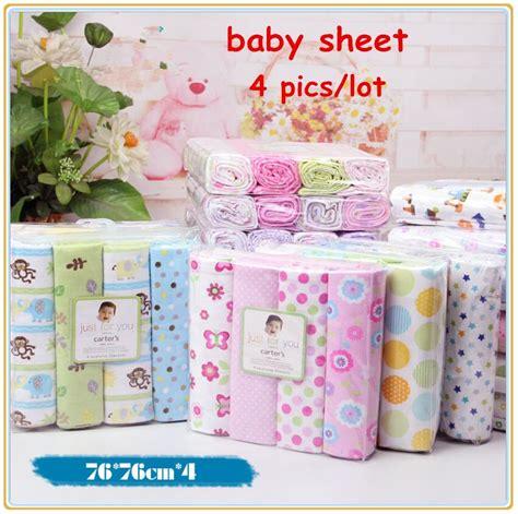 baby crib sheet sets 4pcs lot newborn baby bed sheet bedding 76x76cm set for