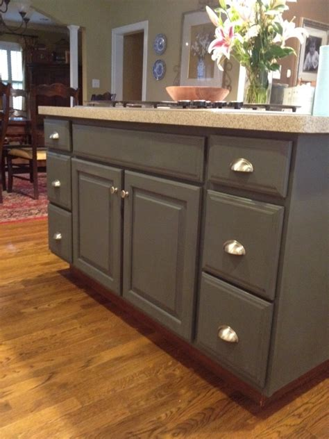 chalk paint island sloan chalk paint for kitchen cabinets