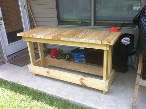 how to build a woodworking workbench bench1