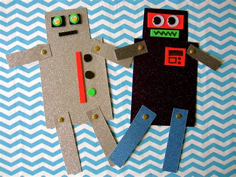 robot crafts for bring a friend storytime sturdy for common things