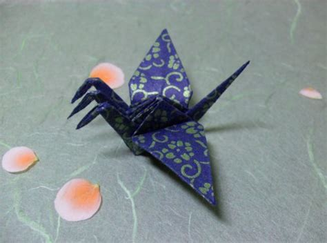 three headed origami 3 headed crane