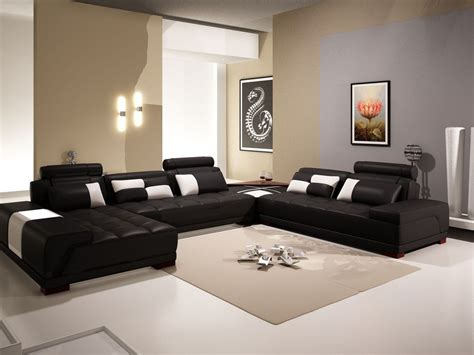 living room decor with black leather sofa living room amazing black living room furniture