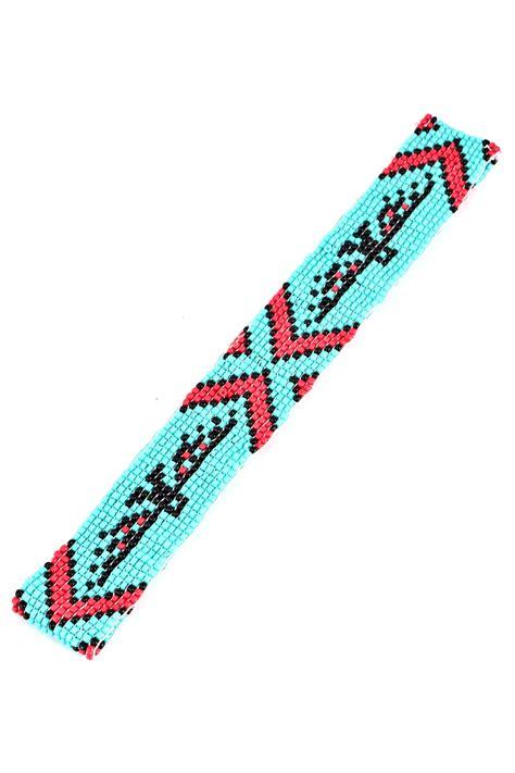 seed bead headbands print seed bead headband hair accessories