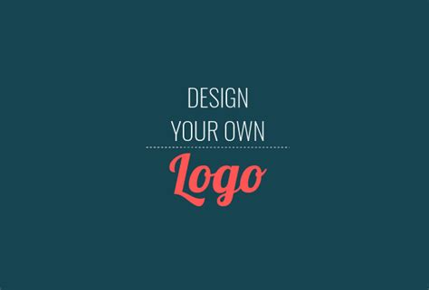 create my own how to design a logo free step by step guide
