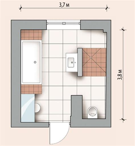 Master Bathroom Floor Plan cool 50 modern bathroom design layout decorating design