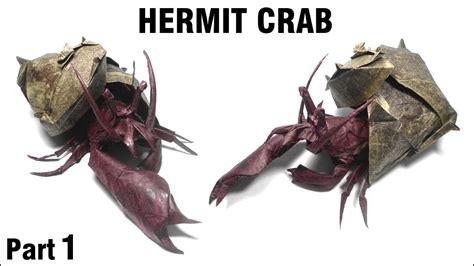 origami hermit crab origami hermit crab tutorial satoshi kamiya part 1 折り紙