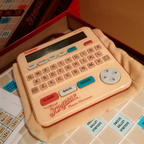 electronic scrabble dictionary find more franklin electronic scrabble dictionary scr 226