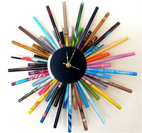 creative clock 30 handmade wall clocks designs wall designs design