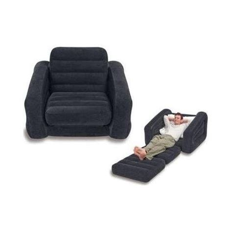 pull out chair bed intex pull out chair transforms into single bed comfort