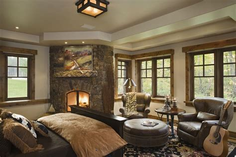 western bedroom designs rustic house design in western style ontario residence