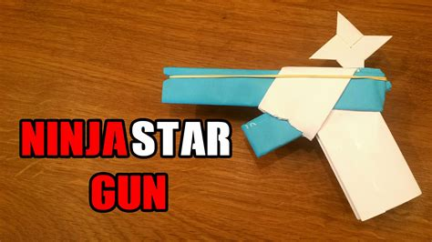 easy origami gun how to make a paper gun that shoots with