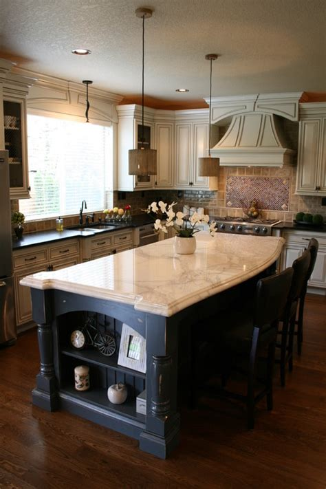traditional kitchens with islands the kitchen island serves many purposes design indulgences