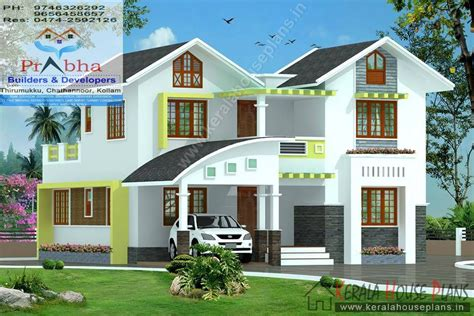 kerala model house plans with elevation 4 bedroom house plans kerala with elevation and floor