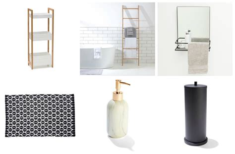 bathroom storage accessories cheap and chic bathroom accessories and storage from kmart