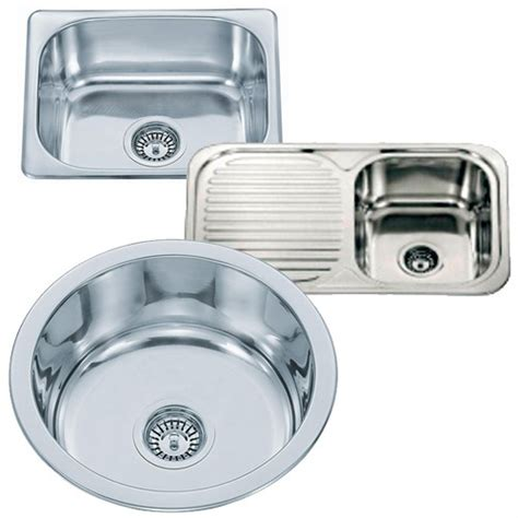 kitchen sink fittings small top mount inset stainless steel kitchen sinks with