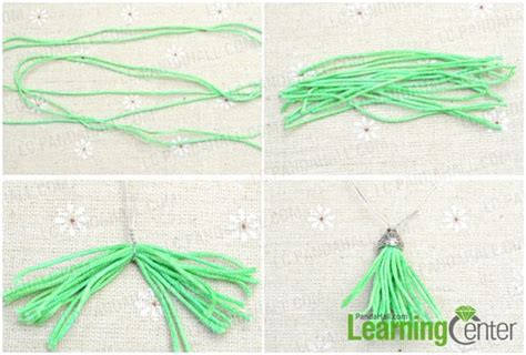 beaded tassels how to make fashion jewelry designs tassel drop earrings with
