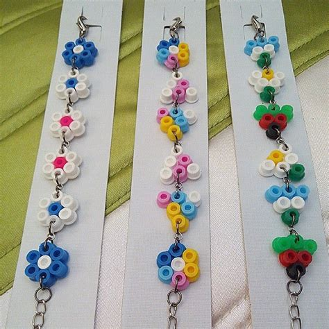 perler bead jewelry patterns 41 best images about perler jewelry on perler