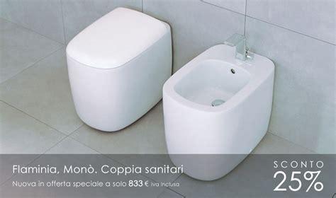 Flaminia Wc Mono by Flaminia Mon 242 Coppia Sanitari
