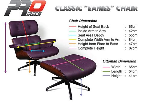 Eames Lounge Chair Dimensions by 41 Best Images About The Eames Lounge Chair On