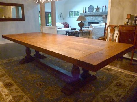 Custom Made Dining Room Tables hand crafted dining room table top by ajc woodworking