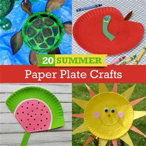 paper plate crafts for summer 20 summer crafts to make with paper plates