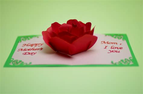 how to make a flower pop up card flower pop up card template creative pop up cards