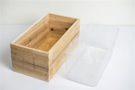 planter box liner handmade wood planter boxes with liner 4x5x10in