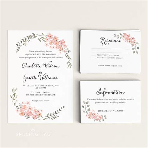 make wedding invitation cards wedding invitations with rsvp cards theruntime