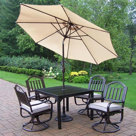 patio dining sets with umbrella patio dining sets with umbrella on sale pictures