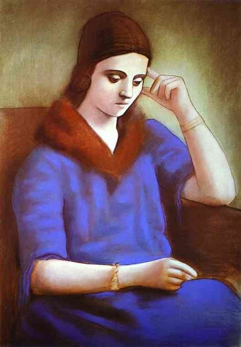 picasso paintings of olga khokhlova the of pablo picasso olga khokhlova web