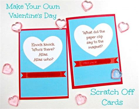 make your own valentines day cards make your own scratch card valentines day dollar