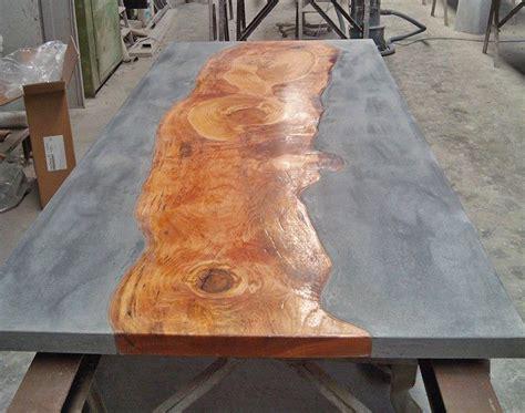 Tafelblad Maken Beton betonnen tafel