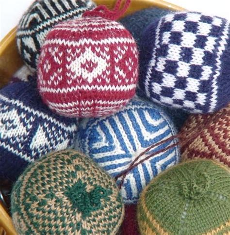 colorwork knitting colorwork ornaments knitting patterns and crochet
