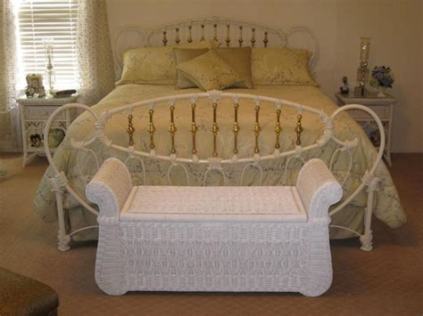 bedroom wicker furniture white wicker bedroom furniture with some interesting