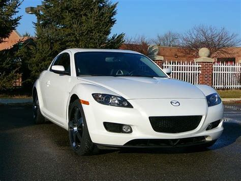 best car repair manuals 2006 mazda rx 8 security system buy used 2006 mazda rx 8 6 speed manual white in brooklyn michigan united states for us