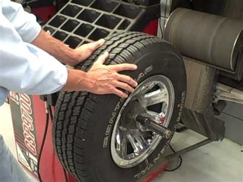 balance for tires msctc tire balancing