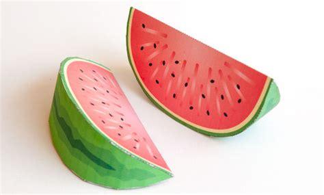 watermelon paper craft paper craft watermelon master of