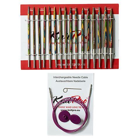 knitting needle sets canada buy knit pro deluxe knitting needle set lewis